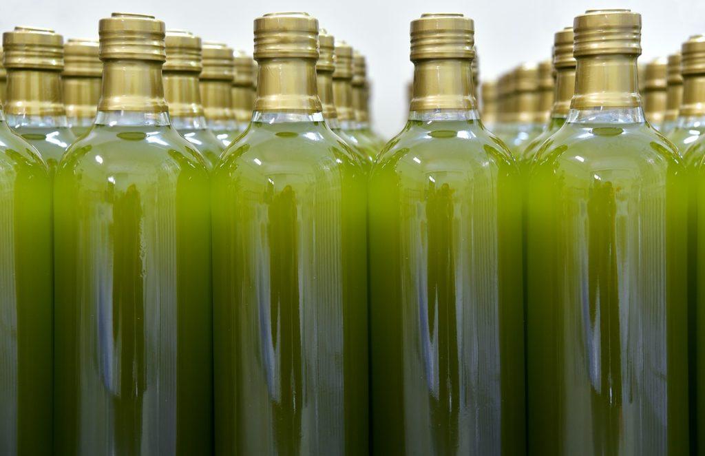 bottiglie olio evo